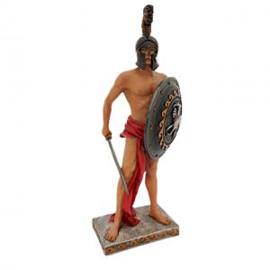 Statueta gladiator Spartacus 26cm rasina