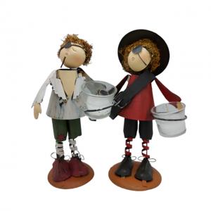 Set 2 figurine pirat Summer Candle metal