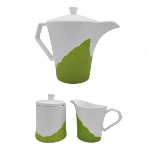 Set cafea / ceai Relaxing, 3 piese ceramica