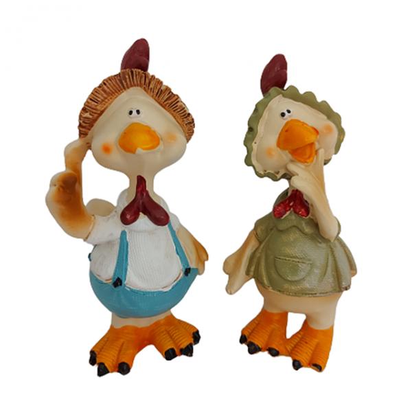 Set statuete rate decorative Ducky Family 14cm