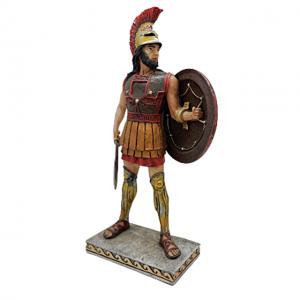 Statueta gladiator Crixus 26cm rasina