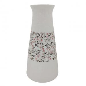 Vaza ceramica Alizee alba 24cm
