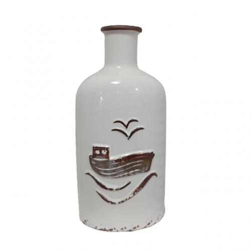 Vaza ceramica Antique Ship 34cm