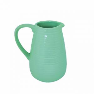 Carafa turcoaz ceramica Gretel vaza 20cm