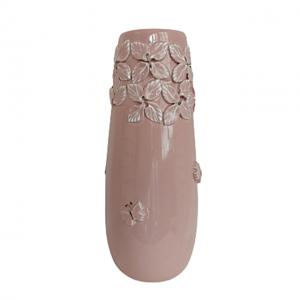 Vaza ceramica Paloma roz 27cm