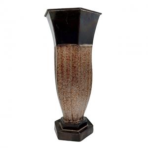 Vaza metal Antique Touch maro 30cm