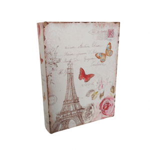 Cutie tip carte Tour Eiffel 18x5x24cm