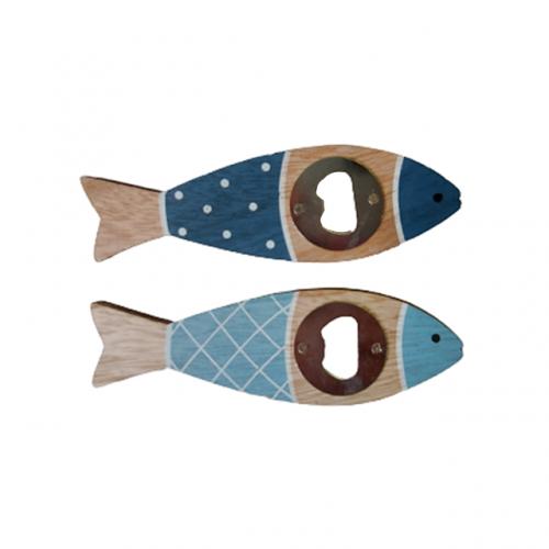 Desfacator sticle bere Fish lemn