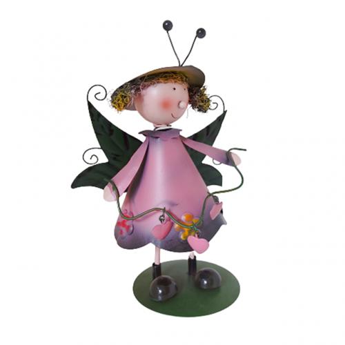 Figurina zana Honey 10x20cm metal