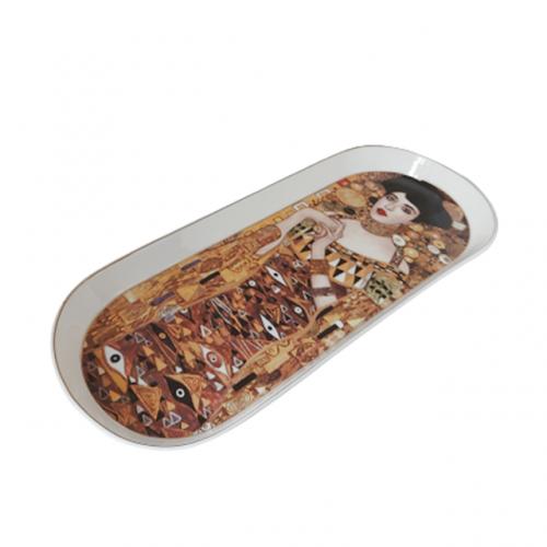 Platou portelan Adele Klimt 34x15cm