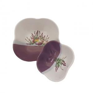 Set 2 boluri aperitive Provence ceramica
