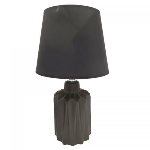 Veioza neagra Grant ceramica, Lampa 35cm