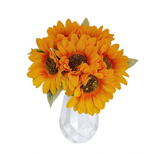 Buchet 6 fire Floarea Soarelui artificiala Sunny
