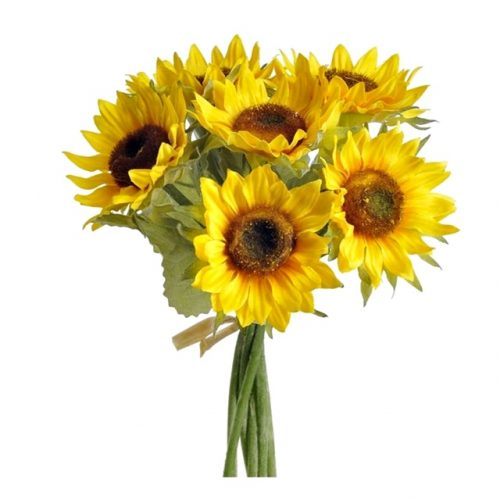 Buchet 7 fire Floarea Soarelui artificiala Sunny