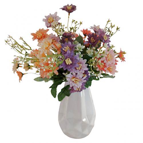 Buchet crizanteme artificiale Adele 30cm