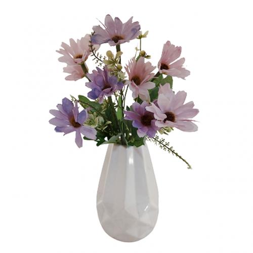 Buchet crizanteme artificiale Daphne mov 30cm