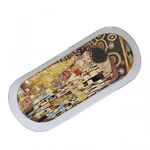 Platou portelan Kiss Klimt 34x15cm