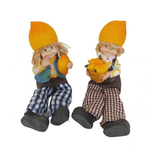 Set 2 figurine Jenny & Greg 5cm rasina