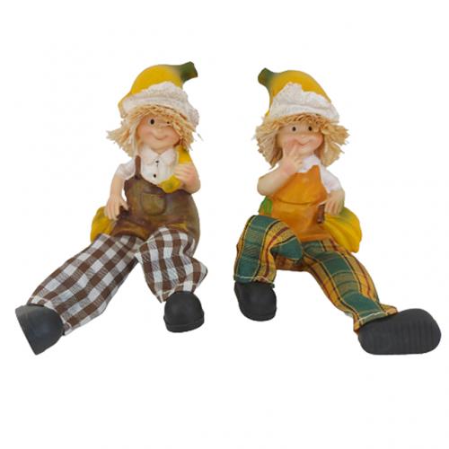Set 2 figurine Dora & Marc 5cm rasina