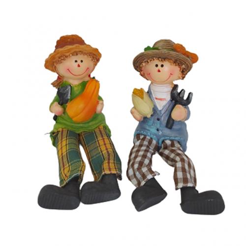 Set 2 figurine Roby & Tina 5cm rasina