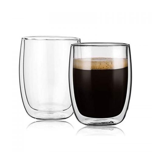 Set 2 pahare sticla borosilicata Jonas 350ml