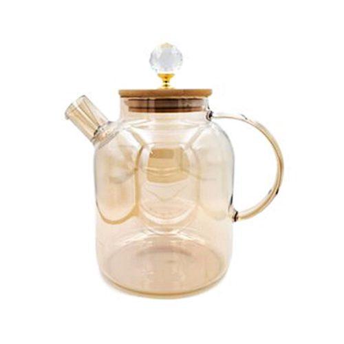 Carafa sticla borosilicata Goldie 1500ml