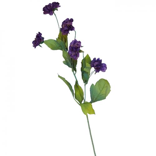 Crizantema artificiala Blue Beauty 65cm