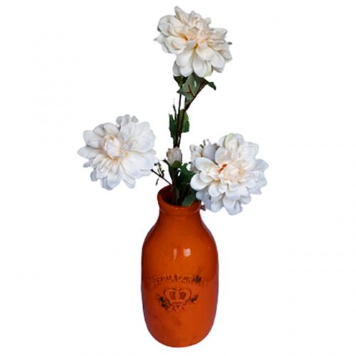 Crizantema artificiala Lace Beauty 65cm
