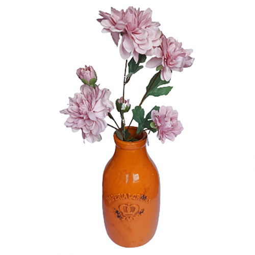 Crizantema artificiala Pink Beauty 65cm