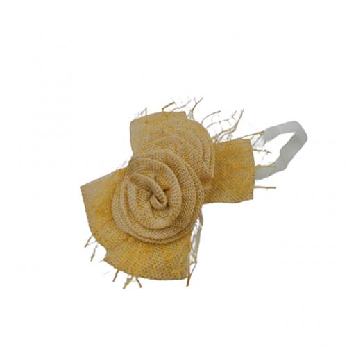 Decoratiune perdea Cream Rose cu magnet