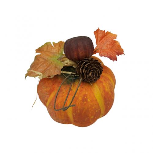 Dovleac decorativ Autumn 6x9cm