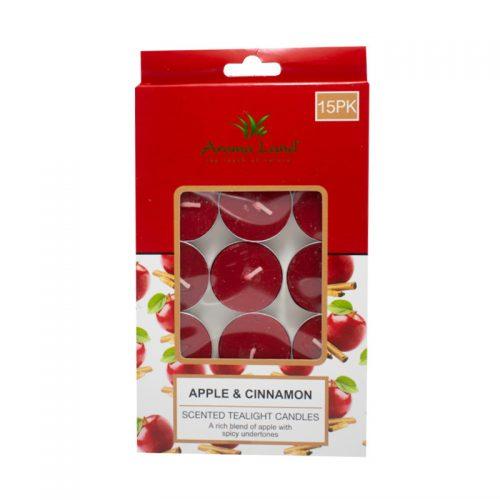 Set 15 lumanari parfumate pastila Apple&Cinnamon