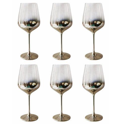 Set 6 pahare vin rosu Ombre Gerard 500ml
