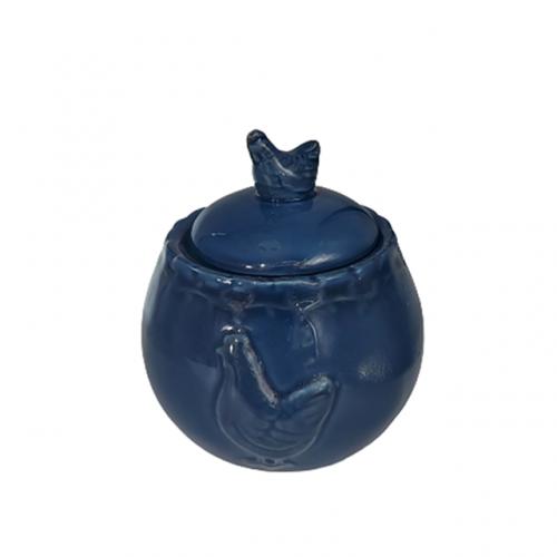 Zaharnita albastra Coq ceramica 7x10cm