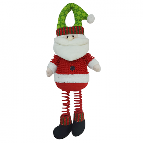 Decoratiune de usa Funny Santa 60cm