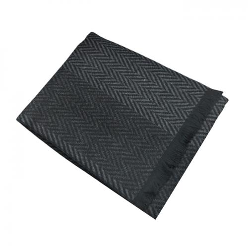 Fular barbati Black Mattew 30x180cm