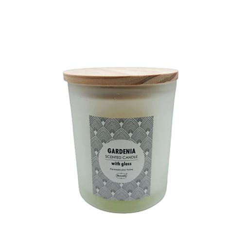 Lumanare parfumata Relaxing Gardenia 9x10cm