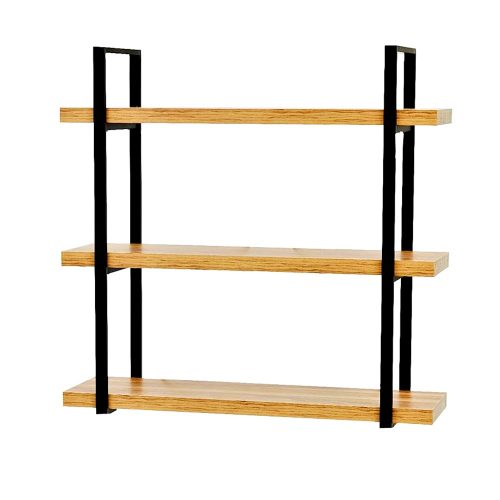 Raft de perete Iron Grieg 3 polite lemn