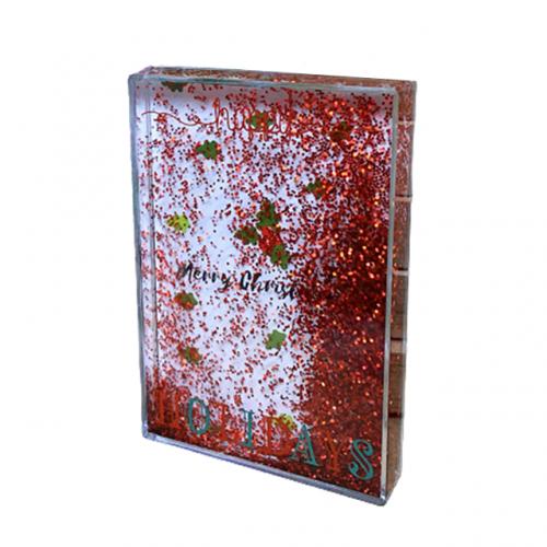 Rama foto Craciun 3D Glitter Holidays