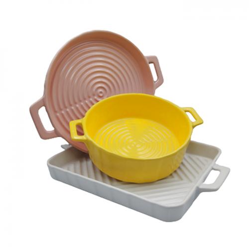 Set 3 tavi de copt Cooking ceramica