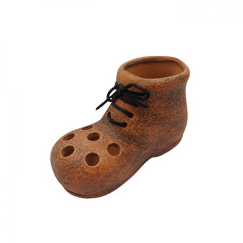 Suport pixuri Brick Boot ceramica