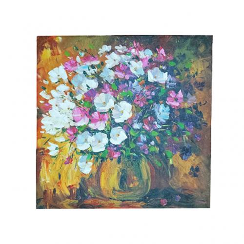 Tablou cu flori Flower Vase canvas 60x60cm