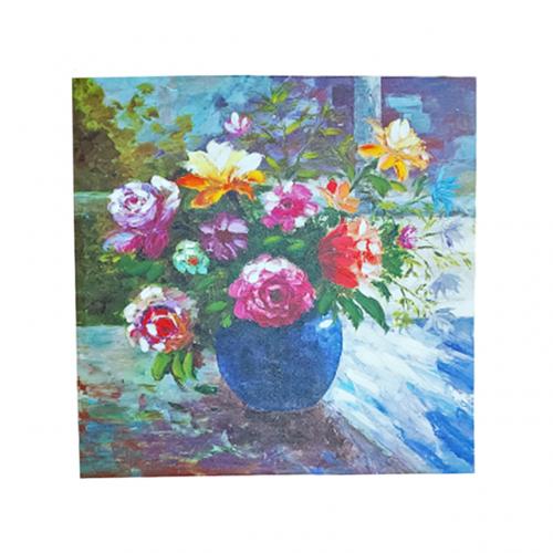 Tablou cu trandafiri Flower Vase canvas 60x60cm